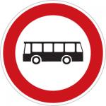 عبور اتوبوس ممنوع