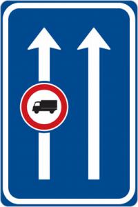 محدودیت عبور کامیون درمسیرمشخص