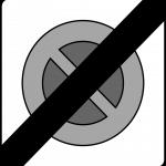 پایان منطقه توقف ممنوع