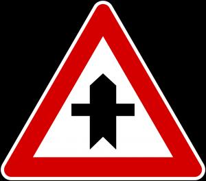 تقاطع فرعی و اصلی