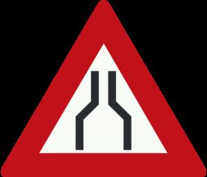 جاده باریک میشود