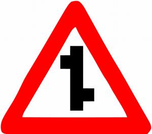 تقاطع دو طرف