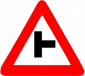 تقاطع راست