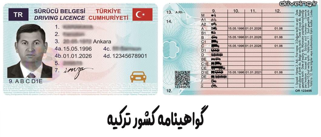 اعتبار گواهینامه ایران در ترکیه