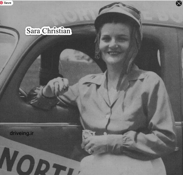 سارا مسیحd راننده زن جهان