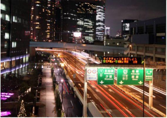 نشانه های بزرگ راه ها در ژاپن