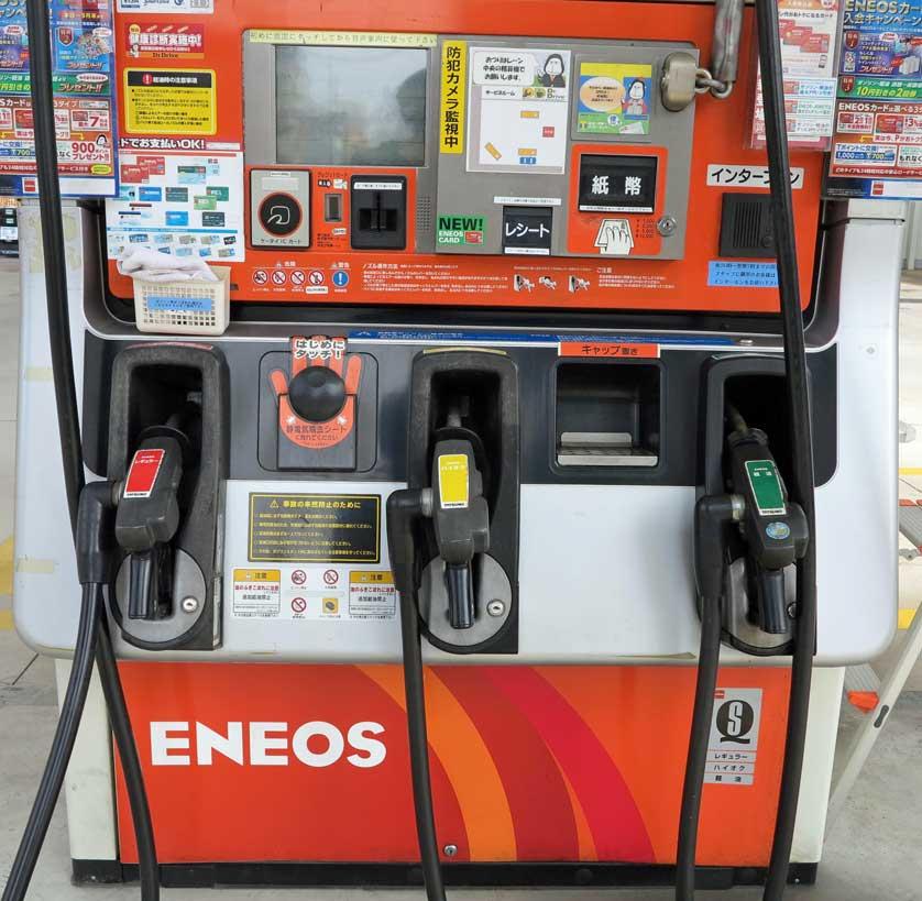سوخت بنزین در ژاپن