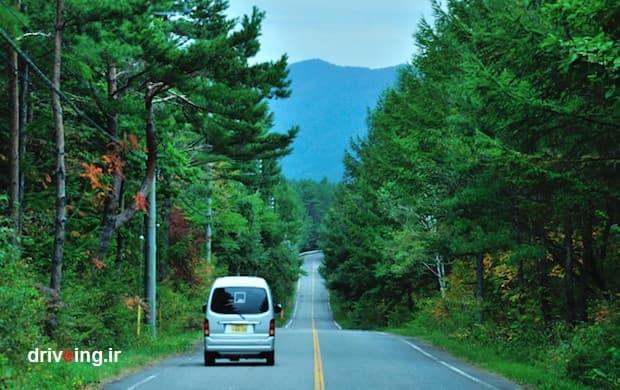 سفر جاده ای در ژاپن
