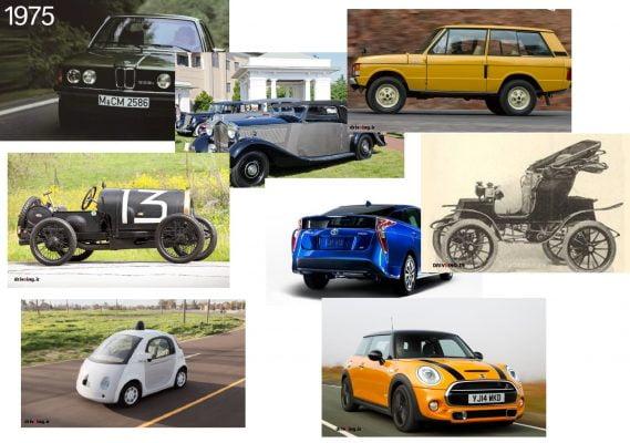 تکامل خودرو ها