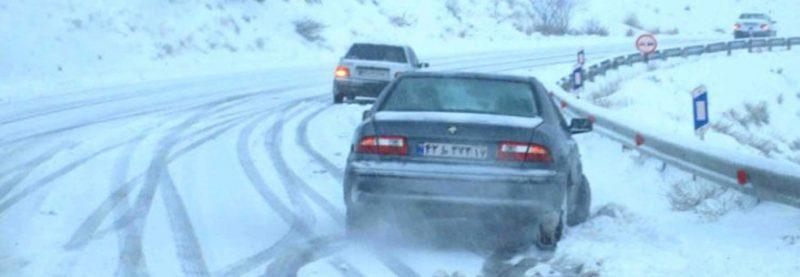 نحوه رانندگی هنگام بارش باران و برف