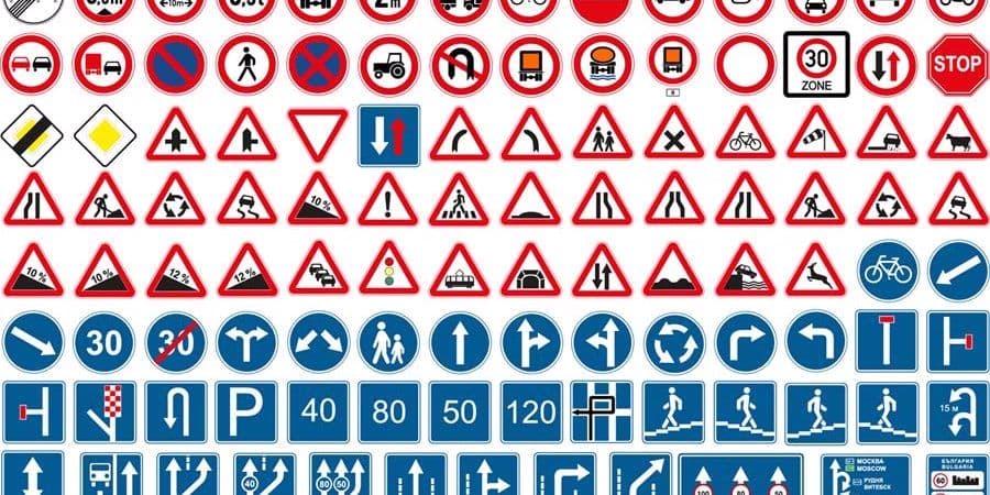 استانداردهای مربوط به تابلوهای ترافیکی چیست